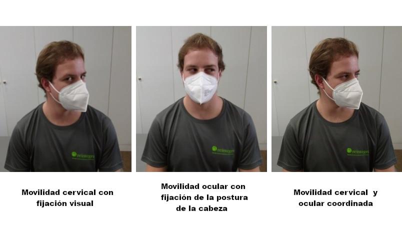 Trabajo de disociación del movimiento ocular y cervical